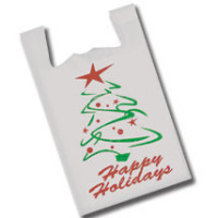 Holiday T-Shirt Bags Now $12.99 per 1000!