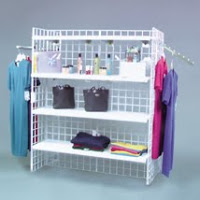 Vertical Merchandising with Grid Displays
