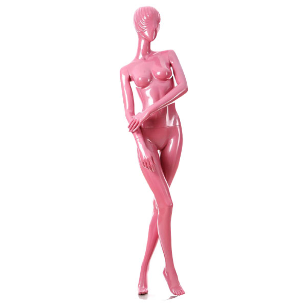 Pink Glossy Mannequin